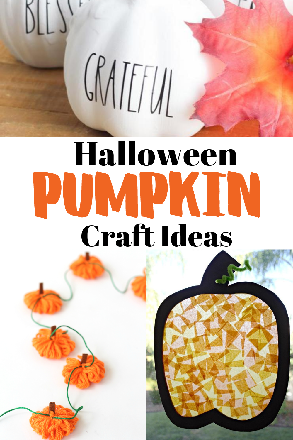 pumpkin crafts pinterest complete