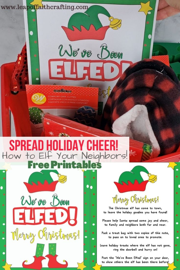 youve been elfed christmas tradition