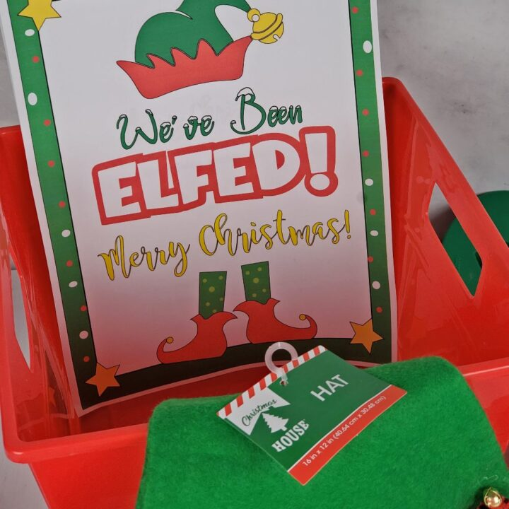youve been elfed printable