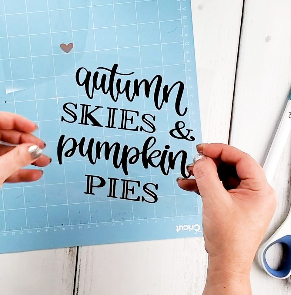 autumn skies svg