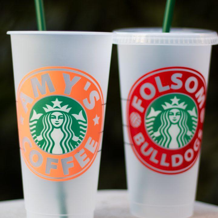 cricut starbucks cup