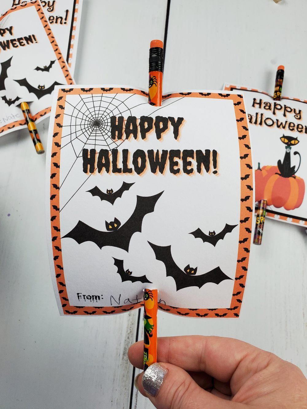 halloween printable tag