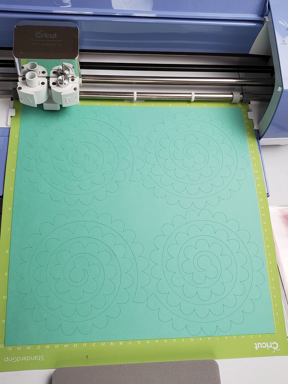 shadow box flower cricut