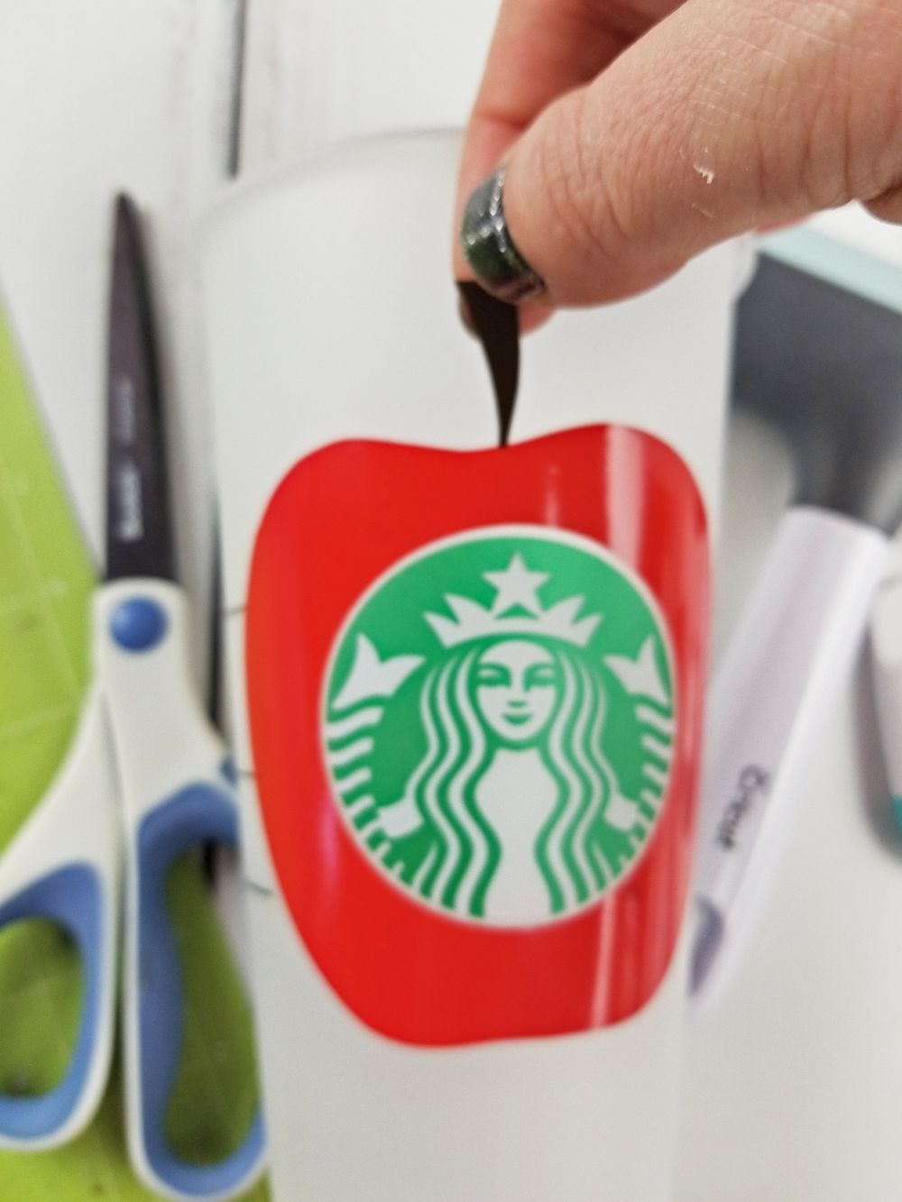starbucks cricut cup tutorial