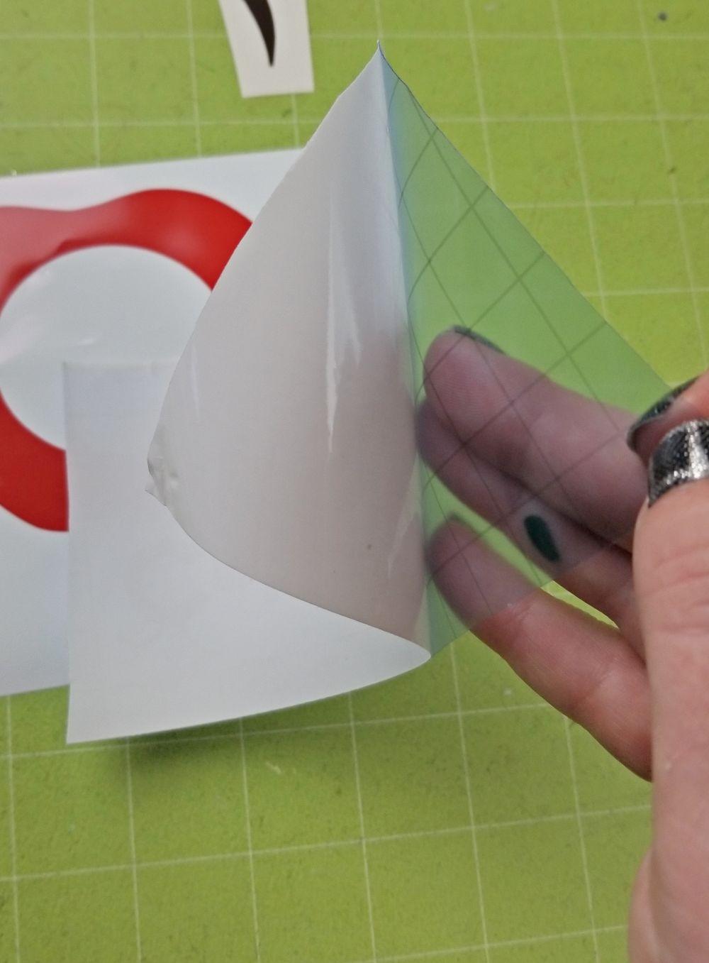using transfer tape cricut