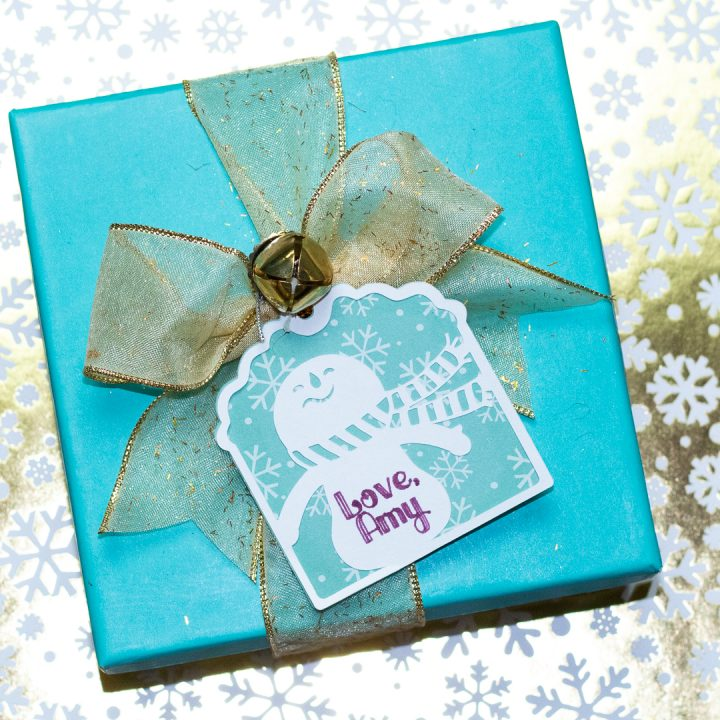 cricut christmas tags holiday