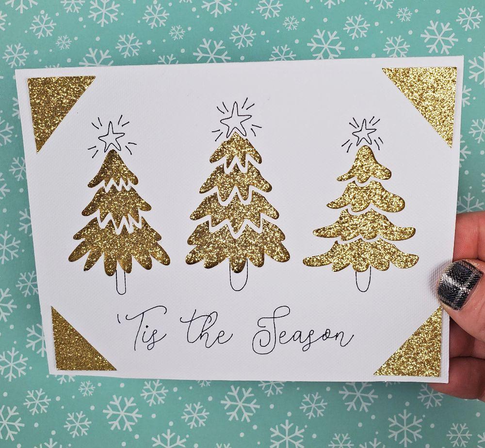 cricut joy christmas cards