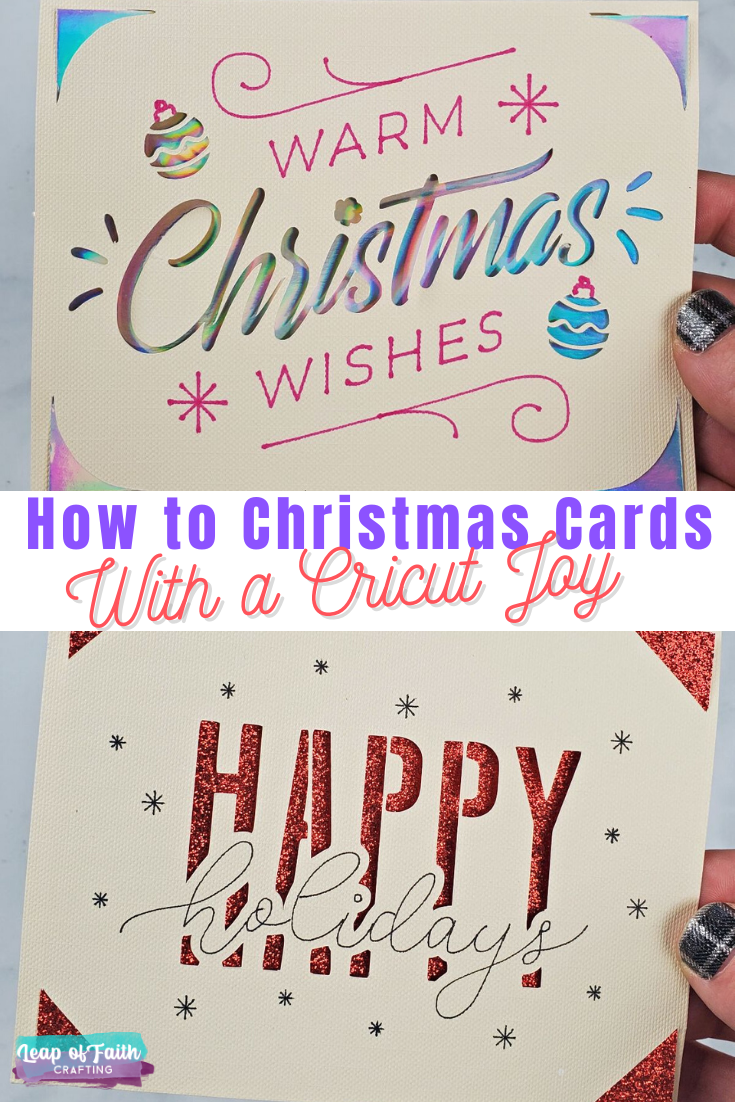 cricut joy christmas cards pinterest