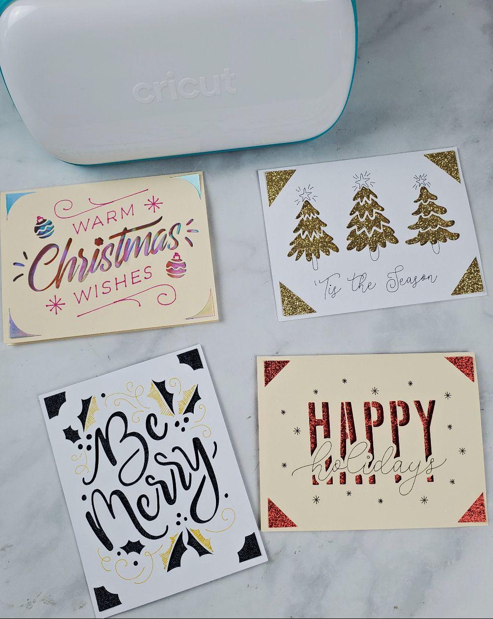 cricut joy holiday cards