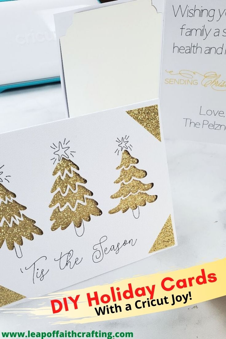 cricut joy holiday cards pinterest