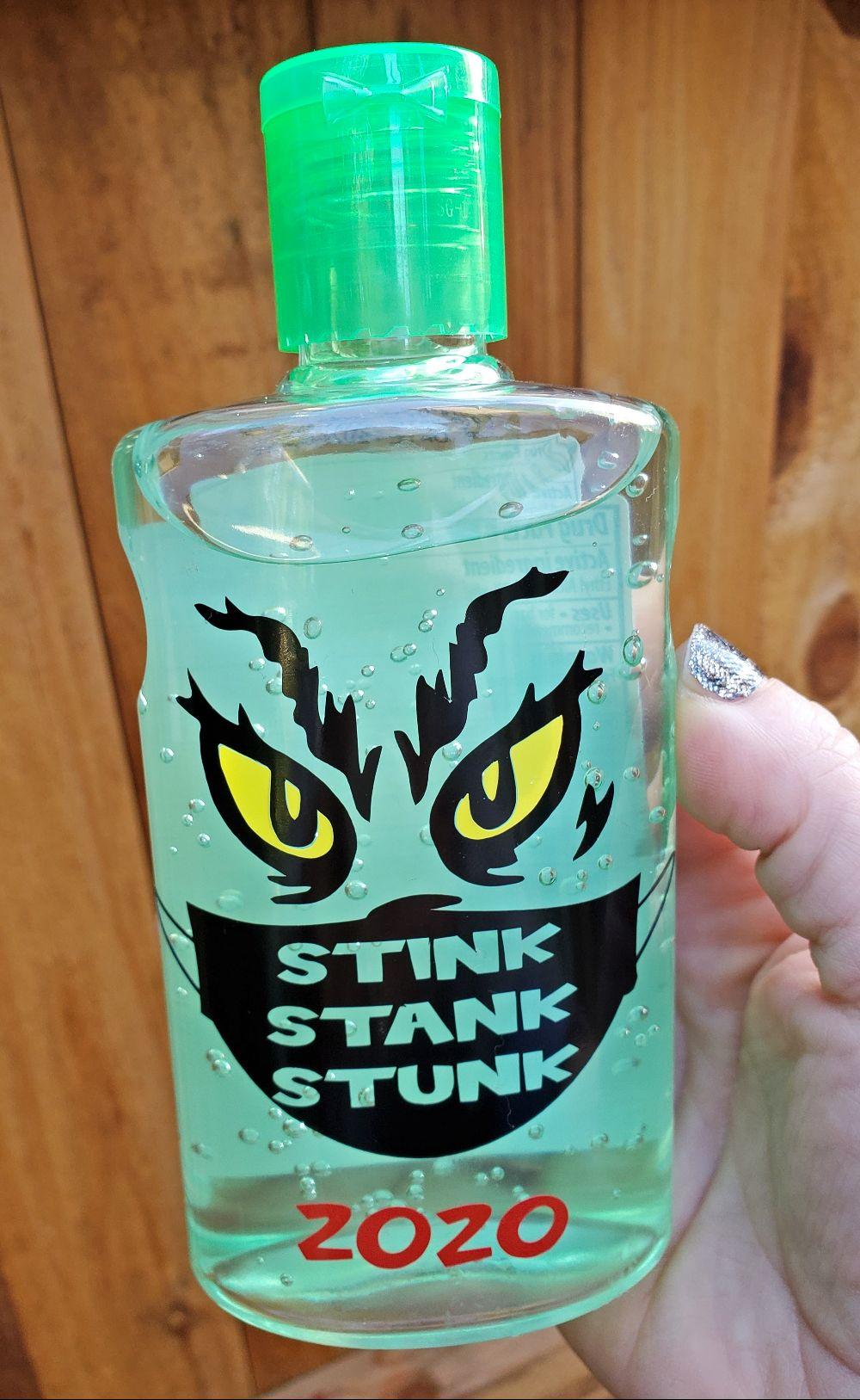 grinch sanitizer