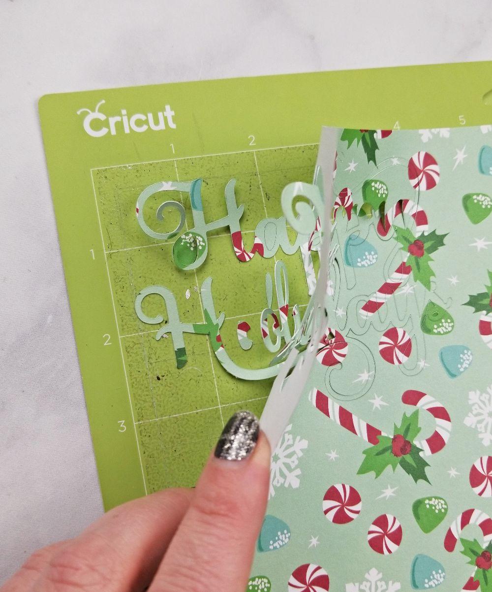 handmade cards cricut