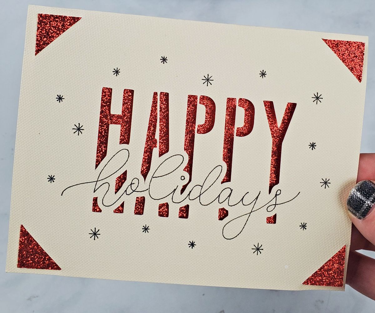 happy holidays cricut joy