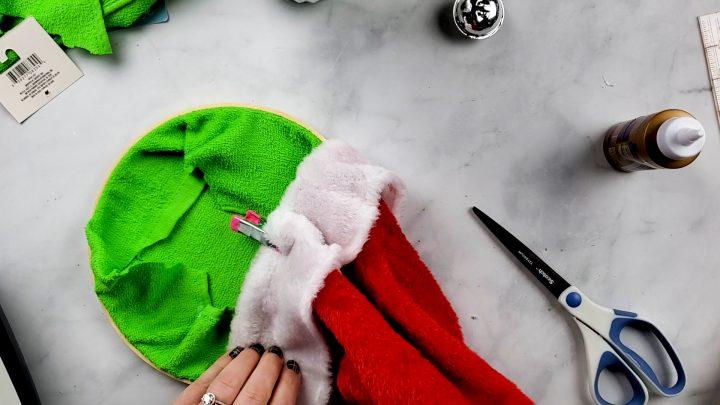 hook on santa hat