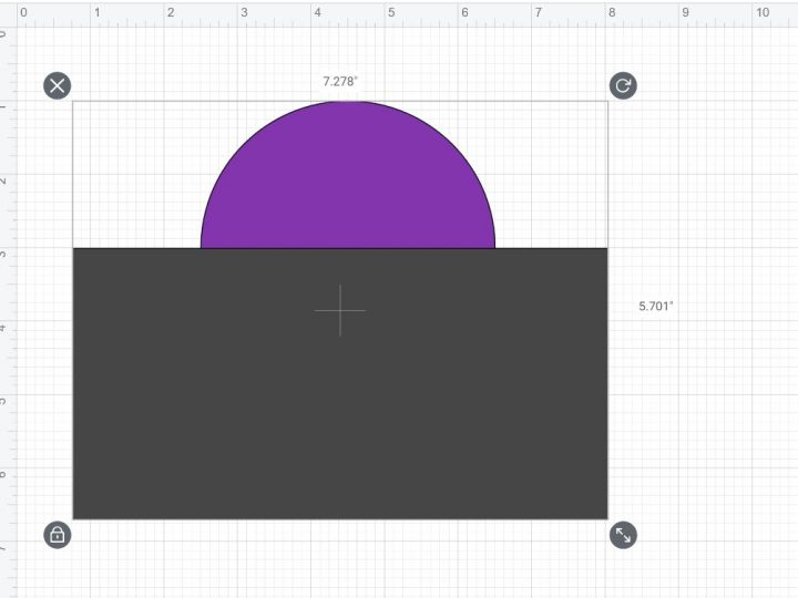 how to select two images cricut
