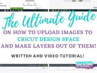 how to upload images to cricut