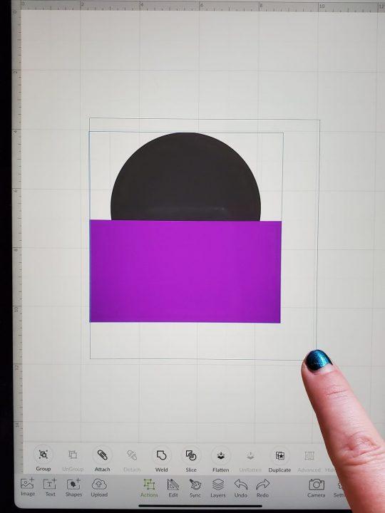 selecting multiple images cricut ipad