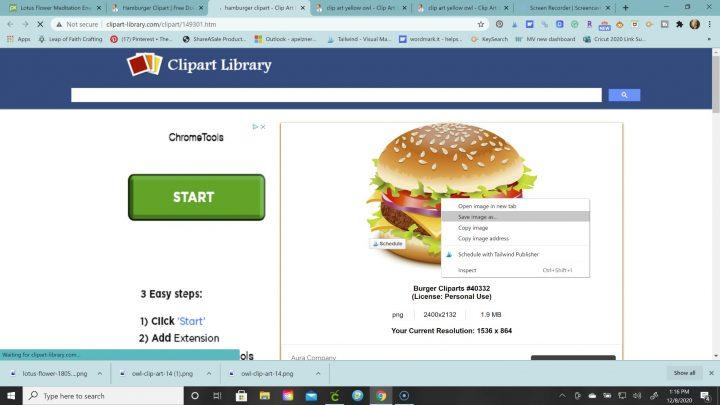 upload jpg to cricut