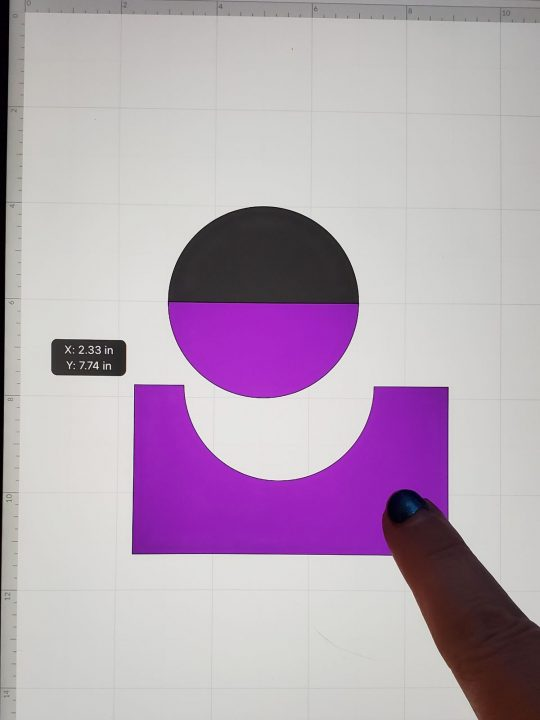 using cricut slice on ipad