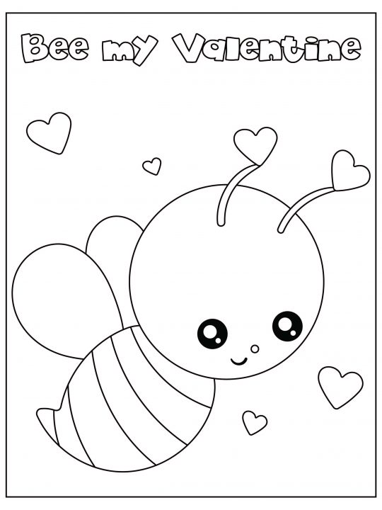 Free Valentine's Day Coloring Pages PDF For Instant Download! - Leap Of  Faith Crafting
