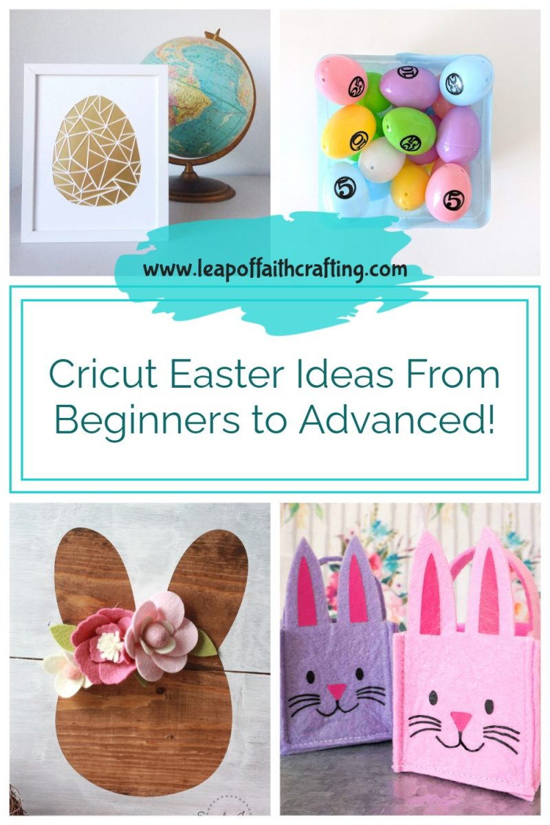 cricut easter ideas from beginners to advanced