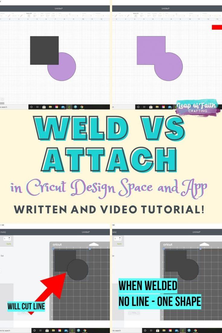 cricut weld vs attach pin