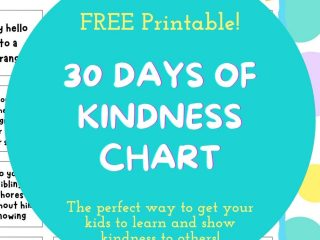 days of kindess printable