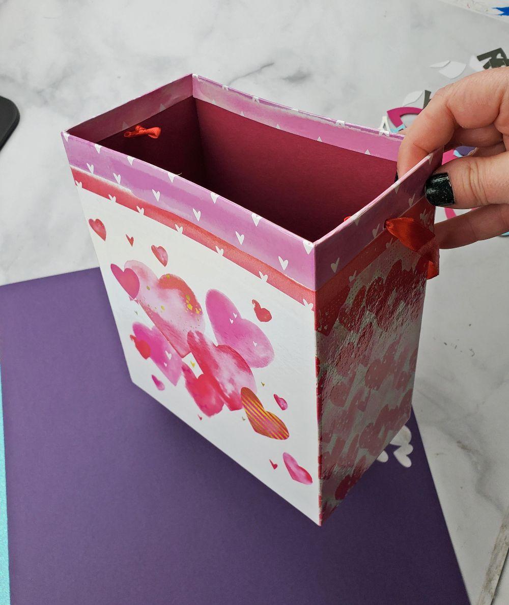 dollar tree valentine box makeover
