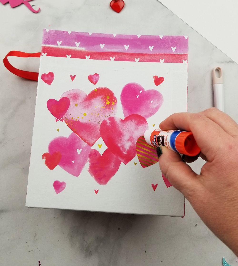 dollar tree valentines box diy