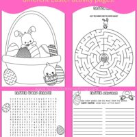 easter worksheets pdf free
