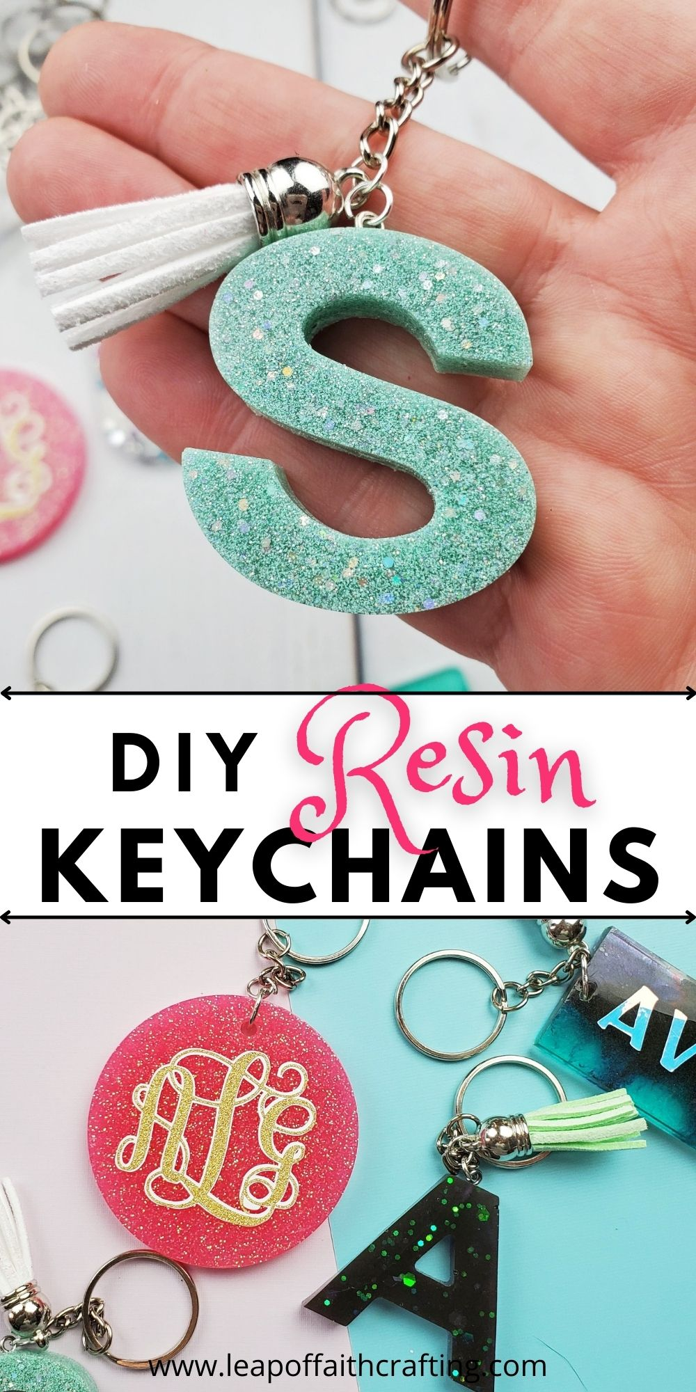 how to make resin keychains pin
