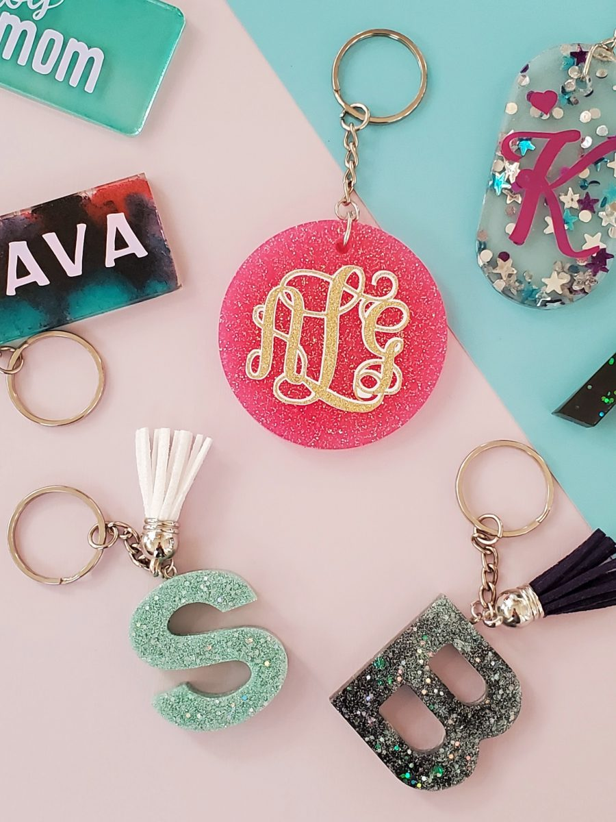 how to make resin keychains pinterest