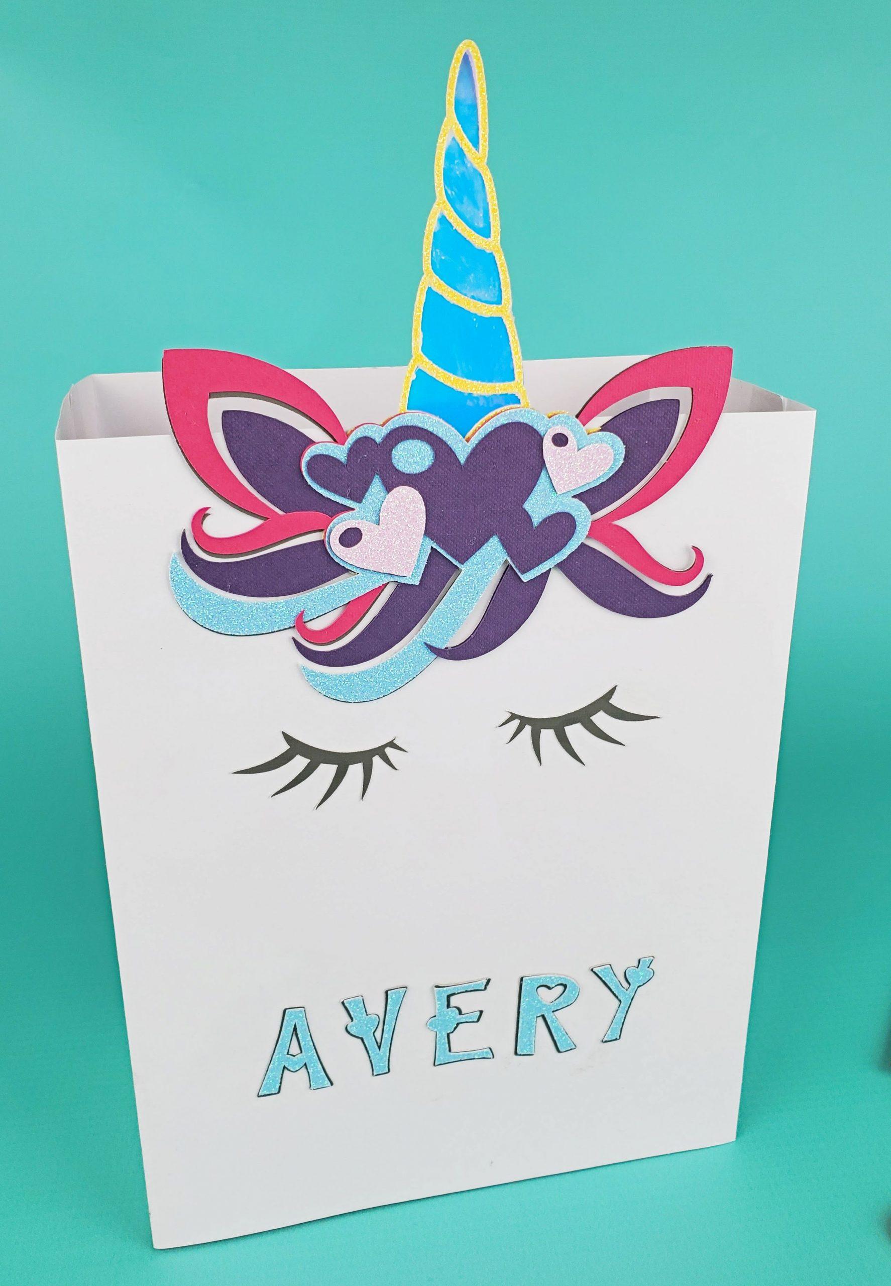 unicorn valentines day box