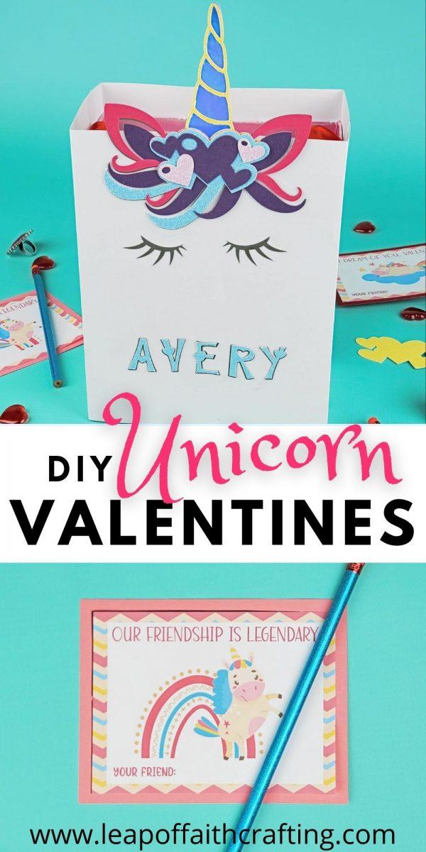 unicorn valentines pinterest