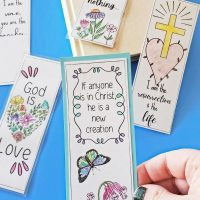 christian bookmarks pinterest