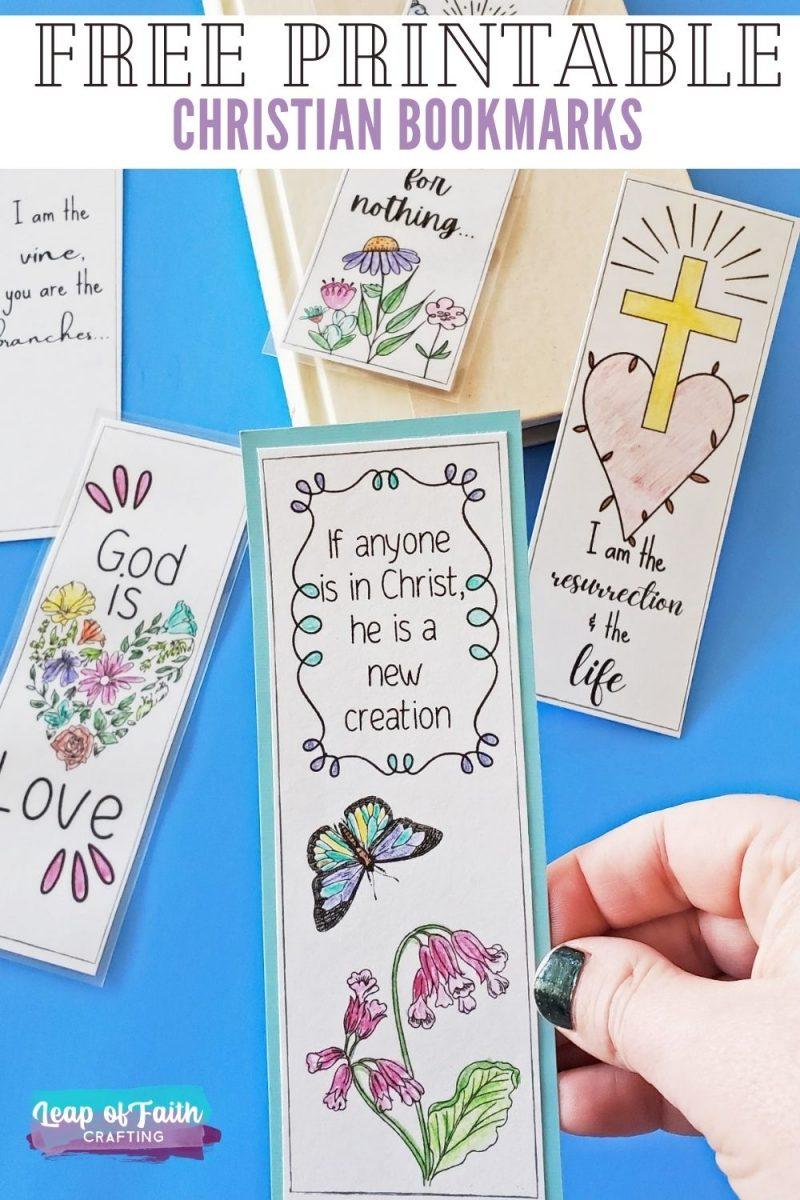 christian bookmarks pinterest