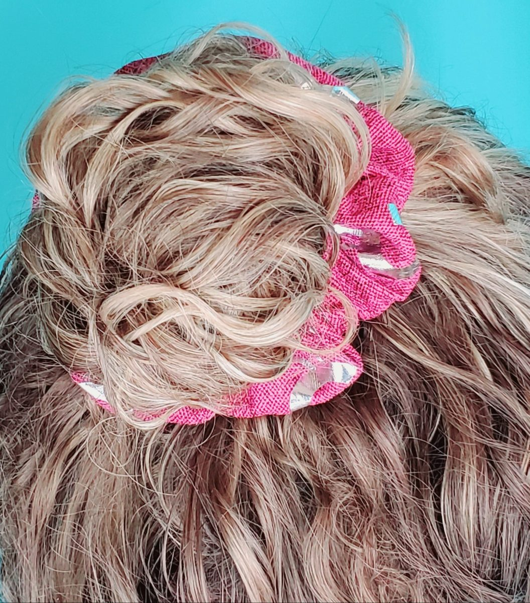 diy custom scrunchie