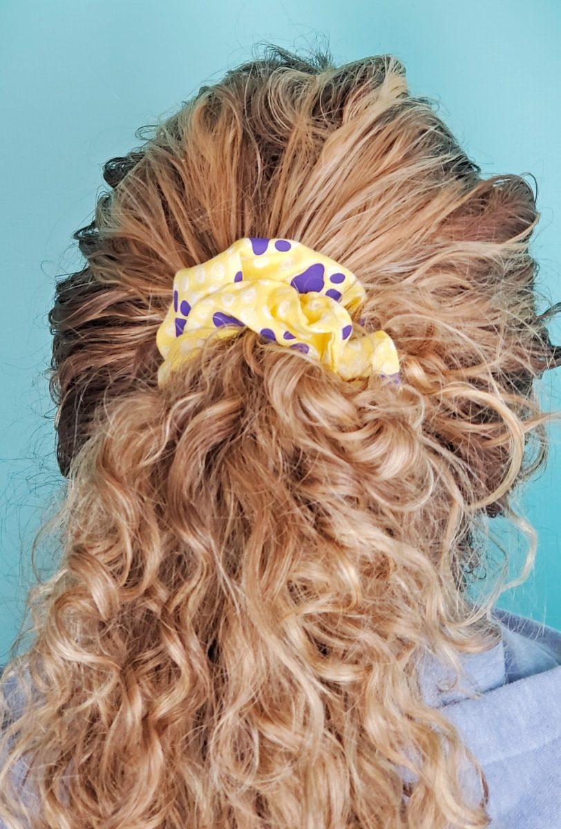 diy hair scrunchies