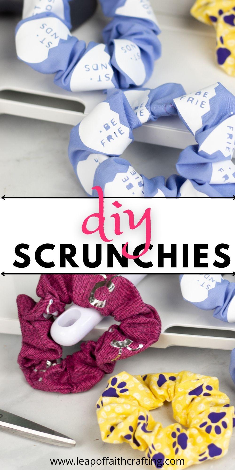 diy scrunchies tutorial
