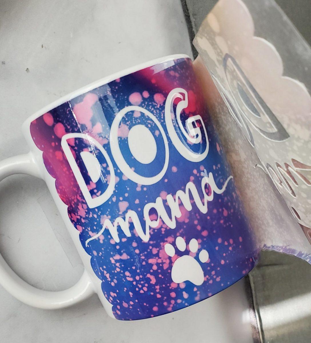 dog mama mug cricut