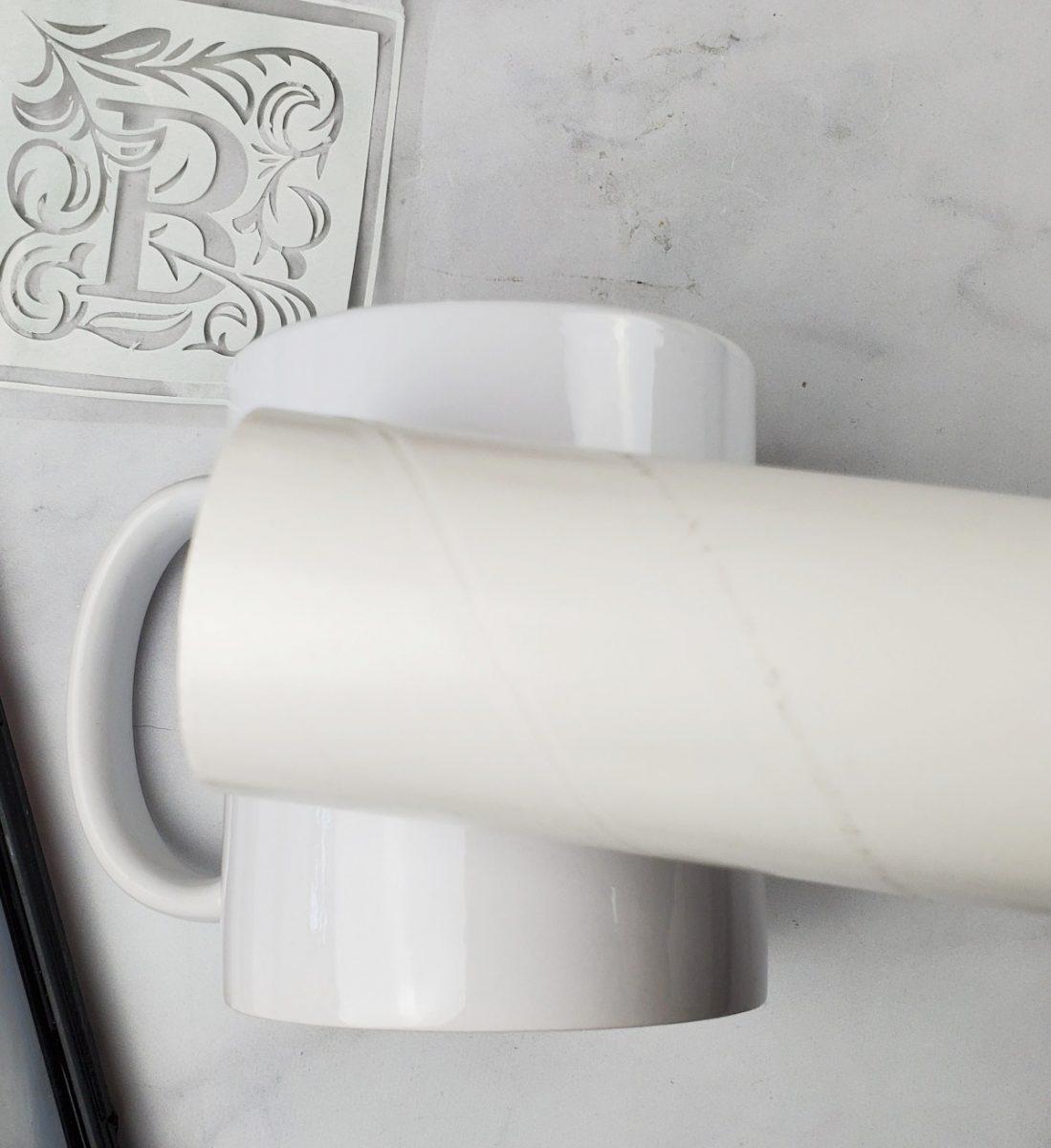 lint rolling cricut mug
