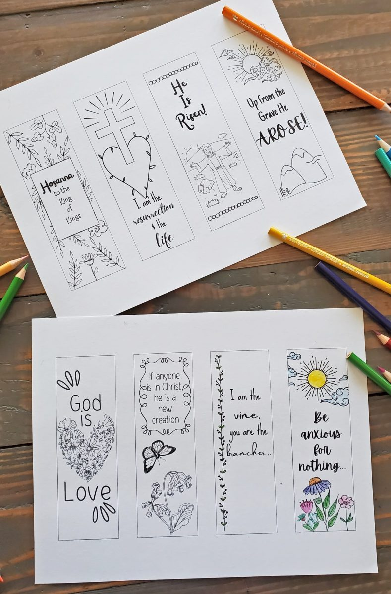 printable bible verse bookmarks to color