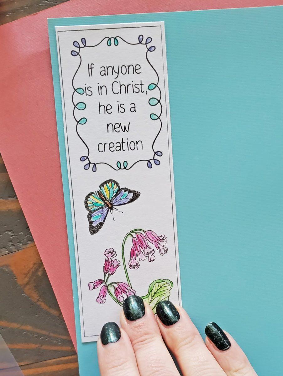 religious bookmark printable