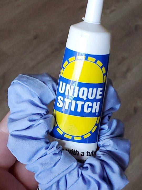 unique stitch scrunchie