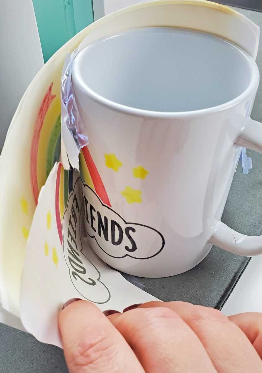 cricut infusible ink marker mugs