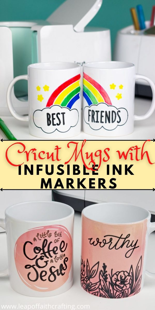 infusible ink markers cricut mugs