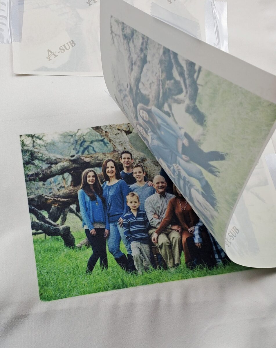 dye sublimation printing project
