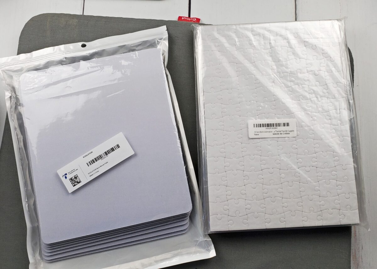 sublimation blanks from amazon