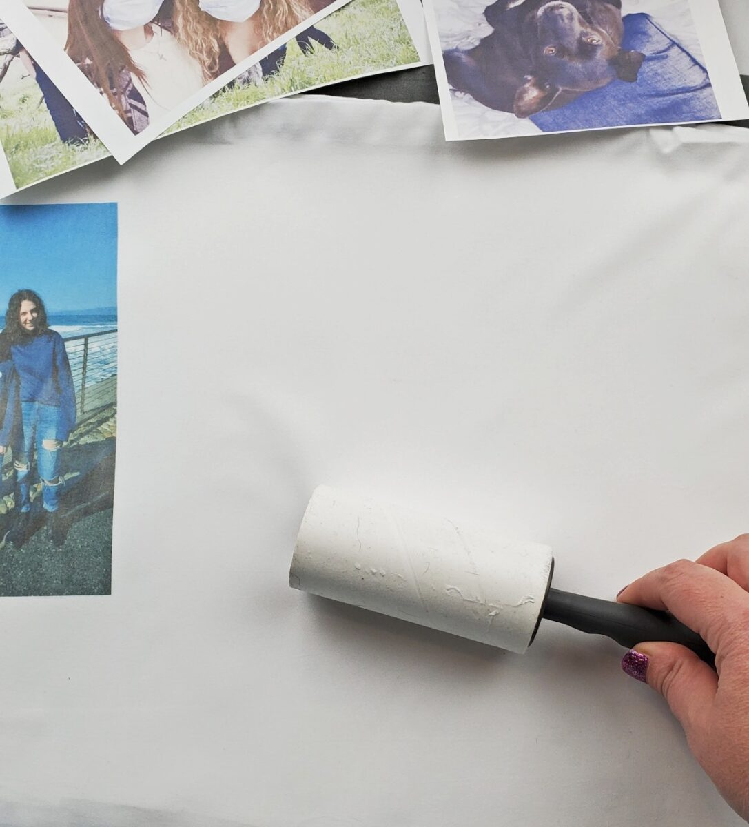 sublimation printing lint rolling