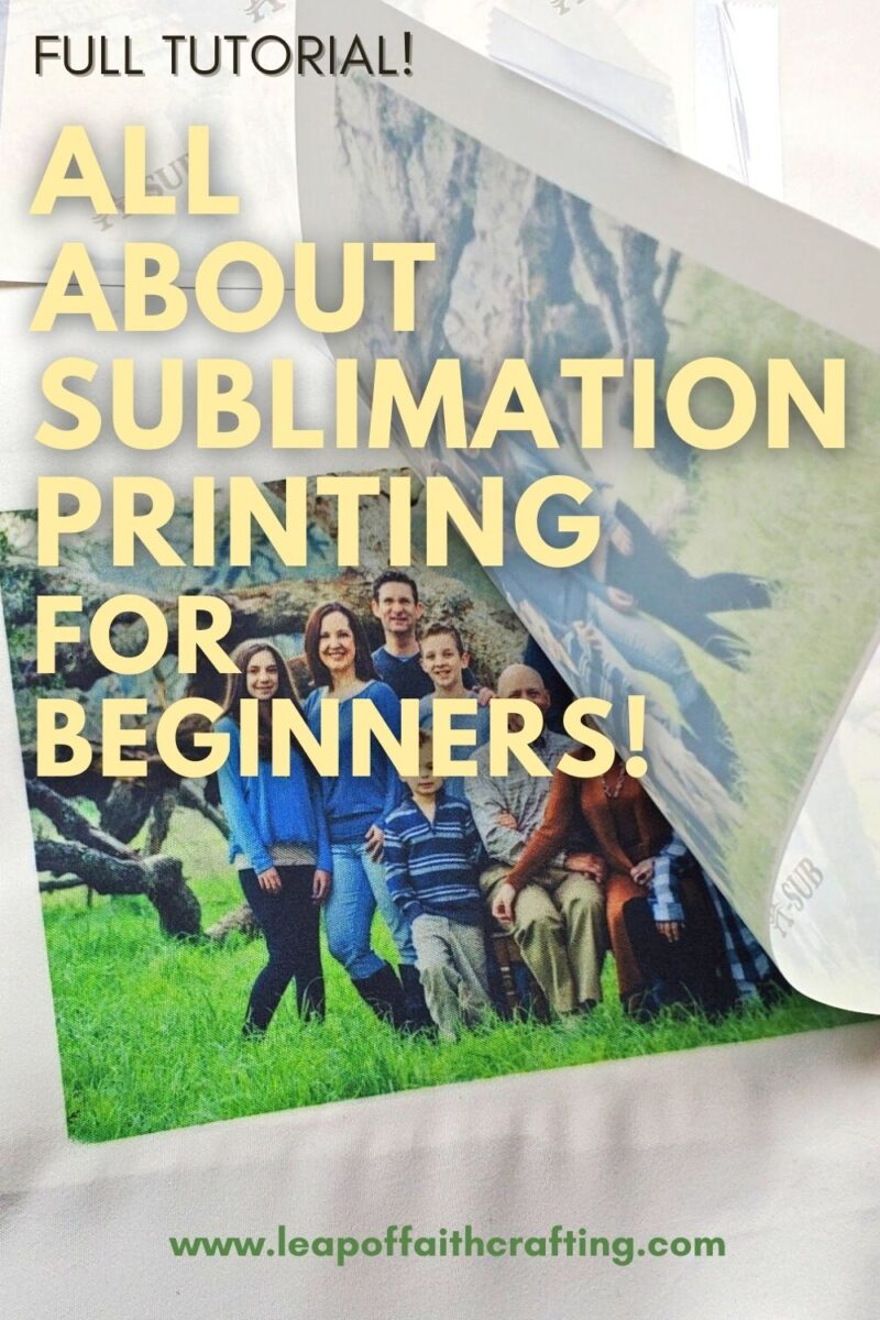 sublimation printing tutorial pinterest